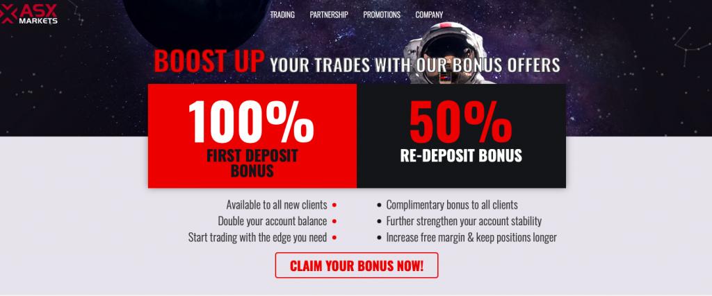 ASX markets website