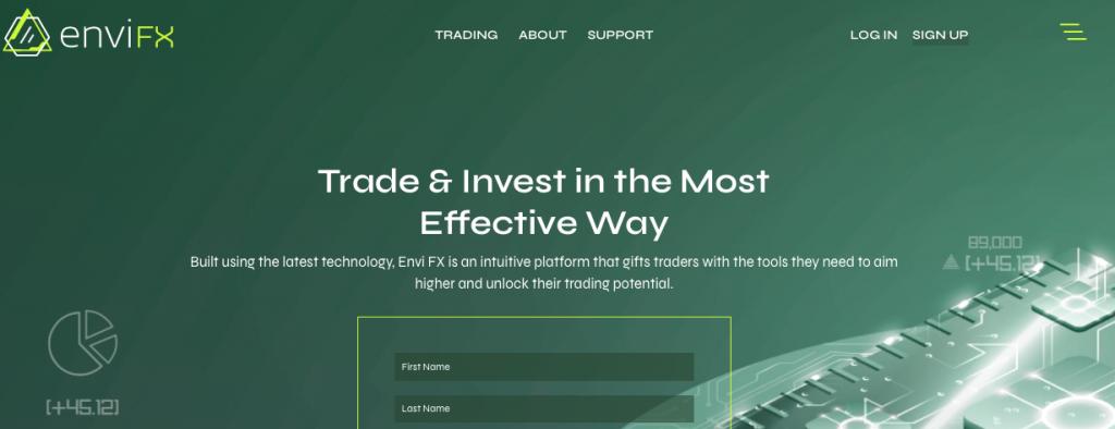 envifx review: website