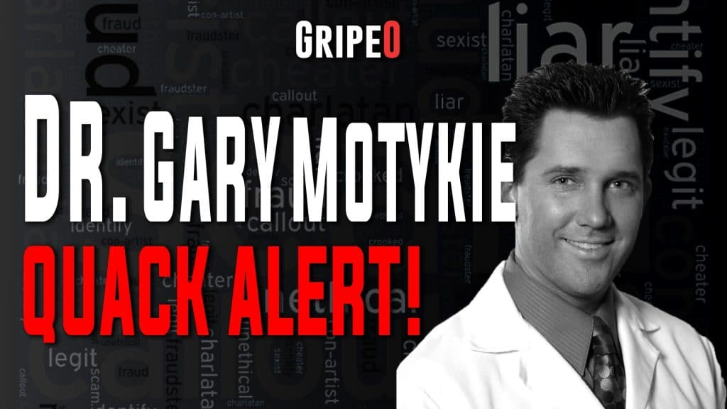 Dr. Gary Motykie reviews (MD) 2021