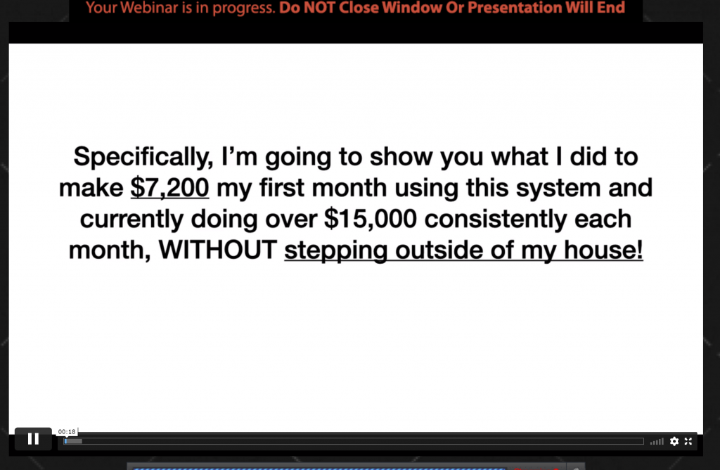 Pratham Waghmare get paying clients in reviews webinar scam