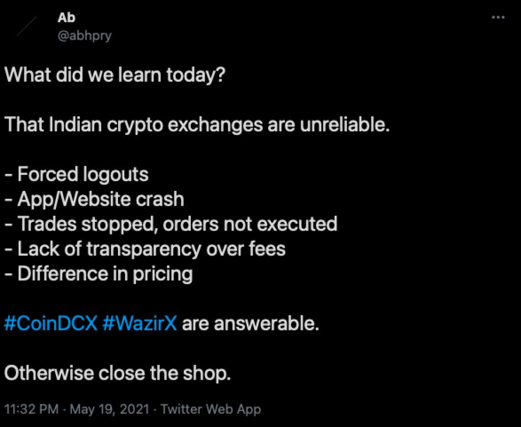 wazirx support